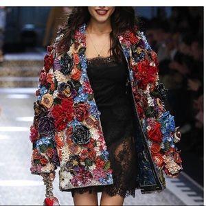 Rare Vintage3D Floral jacket
